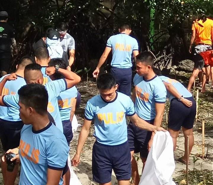 Inside Boracay Week 6 Mangrove Rehabilitation and clean up Boracay PNP