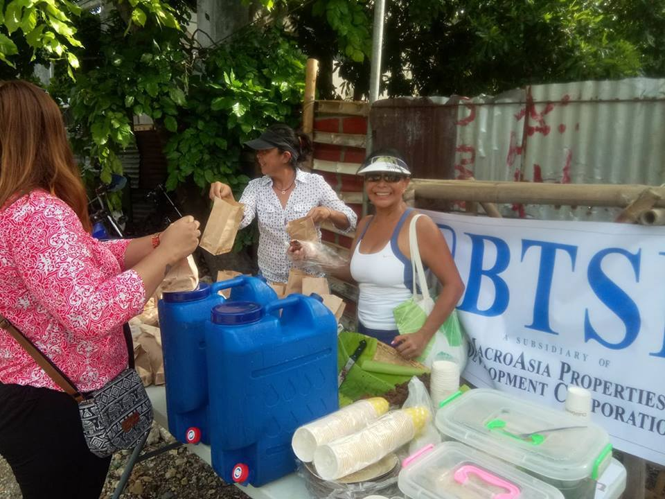 Boracay Mangrove Clean-up and Replanting activities.