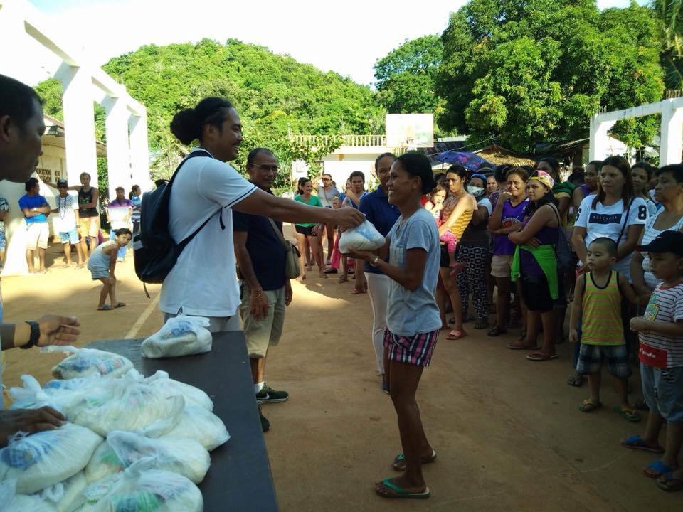 Inside Boracay: Week 6 Community Service and Gift Giving at Barangay Yapak.