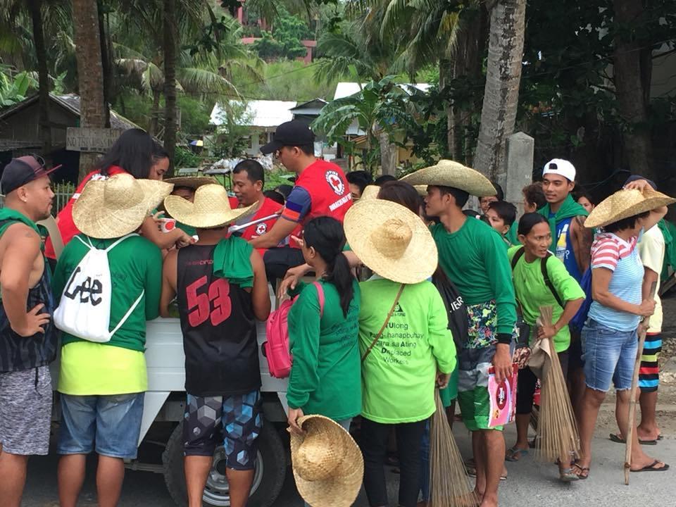 Inside Boracay: Week 6 Red Cross Boracay Chapter Feeding Program.
