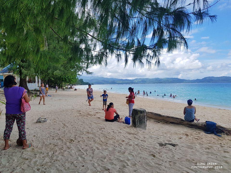 White Beach Boracay during closure