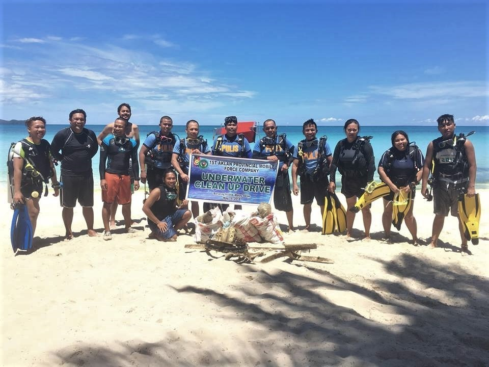 Ocean Clean up and Reef Dome Monitoring during Boracay Closure