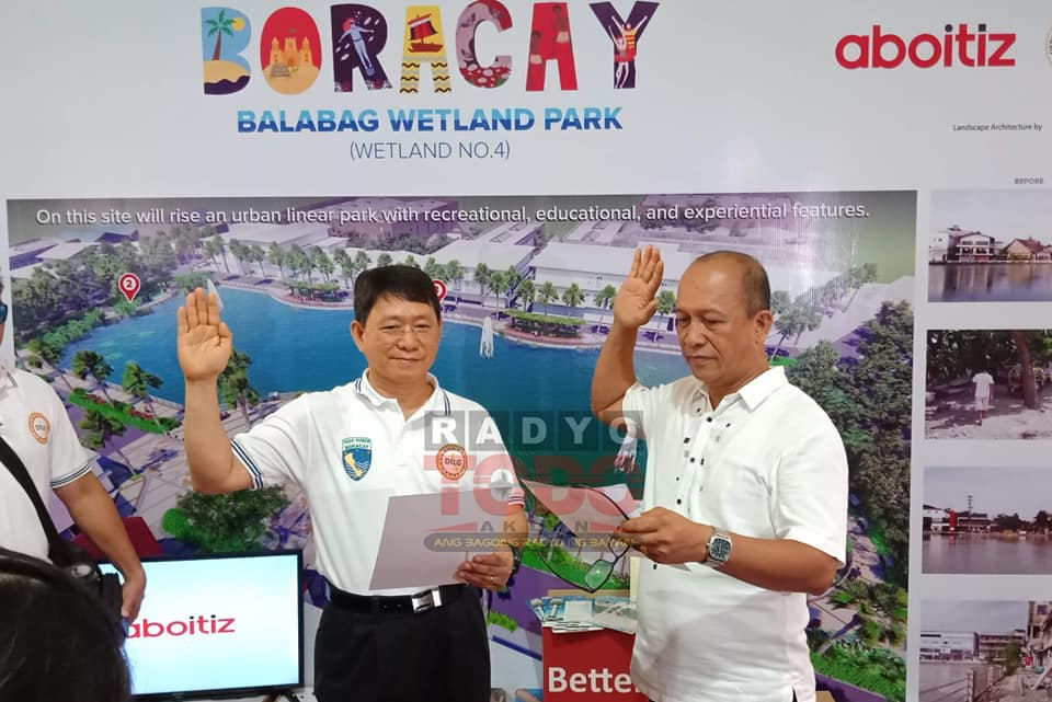 Vice Mayor Abram Sualog signed in, after Boracay Mayor's Suspension - Inside Boracay Oct 2018