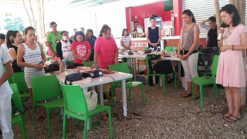 Inside Boracay: Week 4 Rice By-Product Training. Photo Courtesy of Desiree Segovia