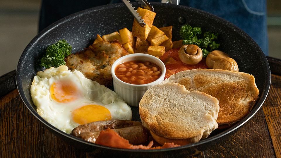 Full English Breakfast at Verde, Makati