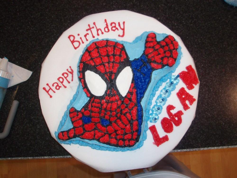 Spiderman Cake… January2009