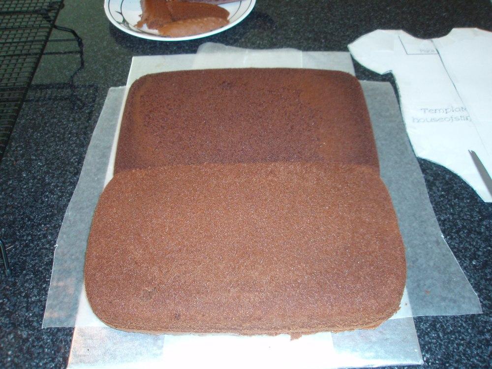 Sweet Pea Baby Shower Cake (2/6)