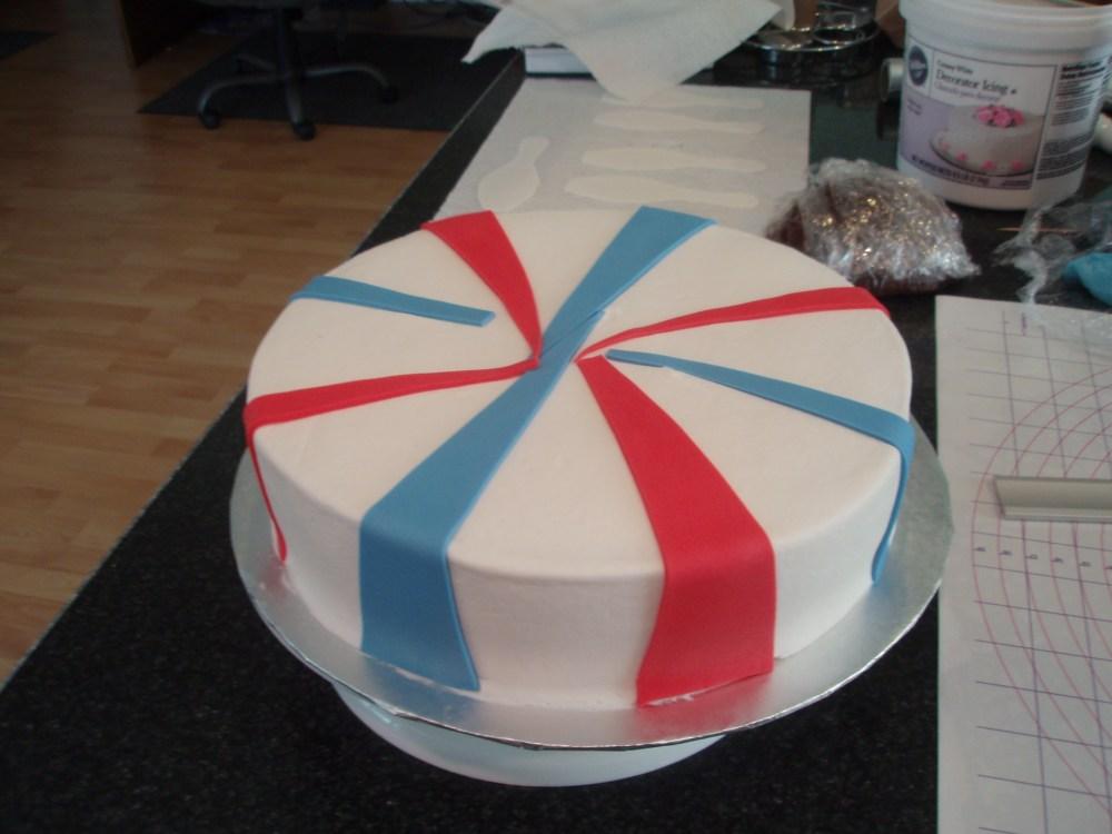 50th birthday bowlingcake! (6/6)