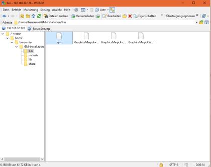 Benötigte GraphicsMagick Dateien