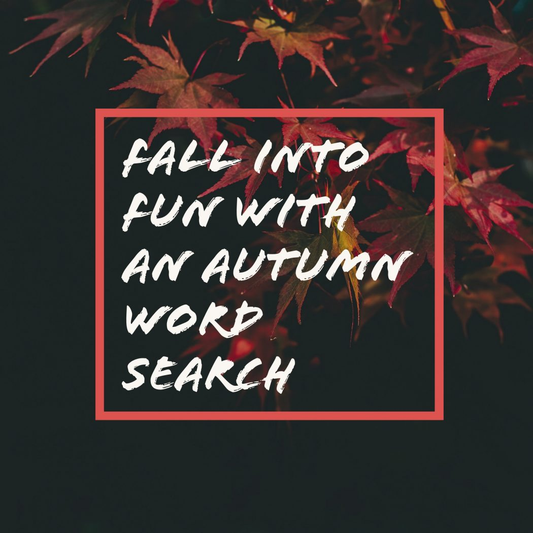 Fall Into Fun With An Autumn Word Search And Maze Worksheet
