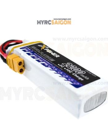 Pin LIPO Xpower 2200mAh 11.1V 30C