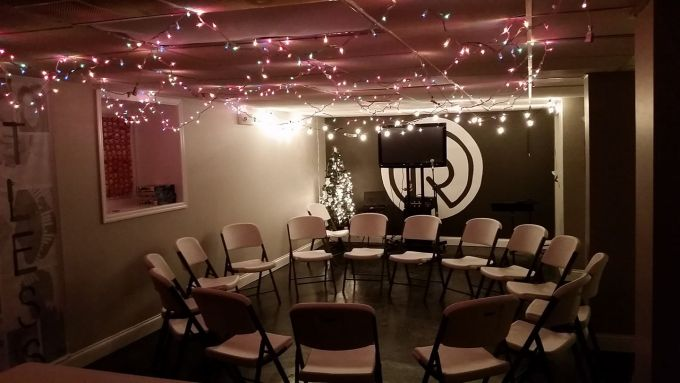 Youth room in Basement of Church