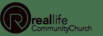 Real Life Community Church Logo Website Facebook Non-Profit