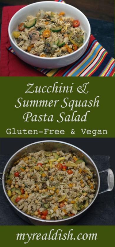 Zuchinni Pasta Salad