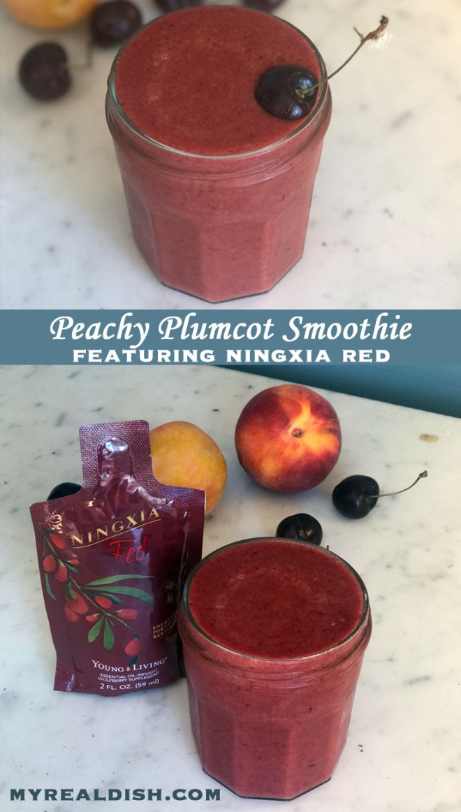 Plumcot Peach Smoothie Cover 2