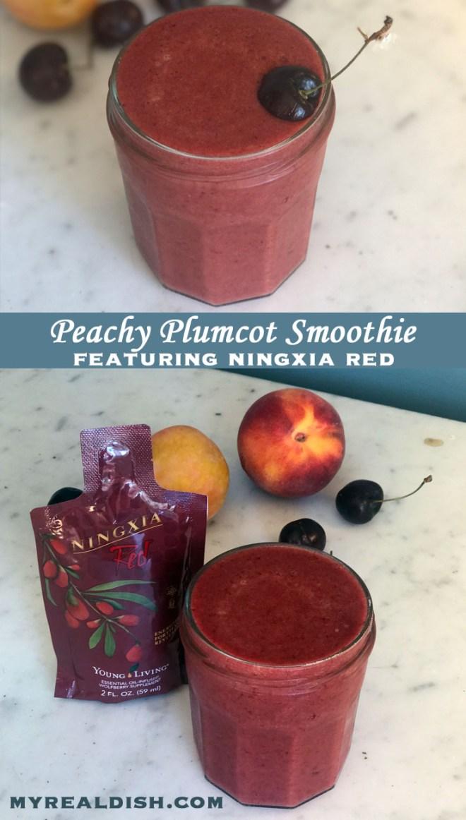 Plumcot Peach Smoothie Cover 2