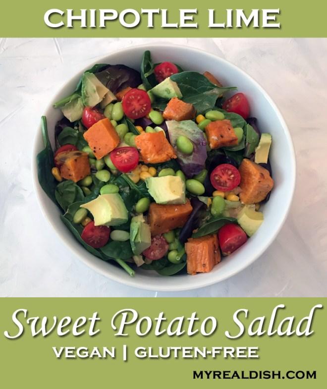 chipotle lime sweet potato salad