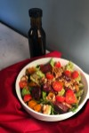fig salad with butternut squash