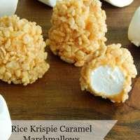 Rice Krispie Caramel Marshmallows