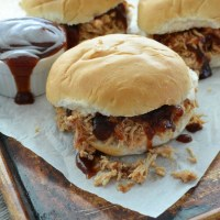 Pressure Cooker BBQ Chicken Sandwich