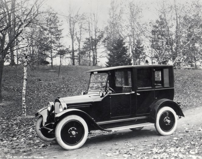 1924 Willys Knight Taxicab produced in Toledo, Ohio