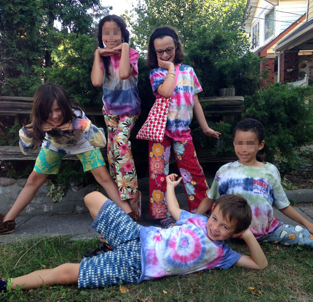 "The last day: ""Check out my new pyjama pants. I made them myself!"""