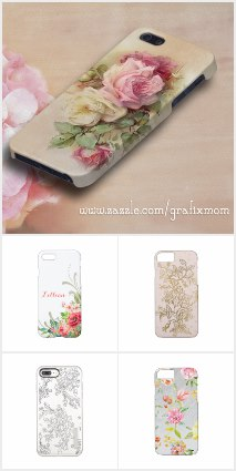 Best Zazzle Stores: GrafixMom Phone Cases