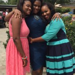 Bride & her pretty sisters