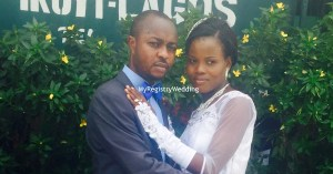 The couple were joined as husband and wife on April 24th at the marriage registry.