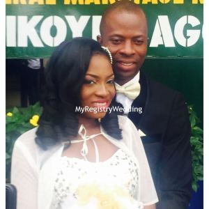 Mayowa weds Bode Ademola on the 17th of September at Ikoyi Registry. Wishing you unending love .