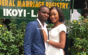 Toyin say I do to Tayo on the 3rd of December 2015. See more pics after the cut...