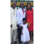 Couple with Bride's Dad and niece