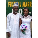 Bride with her father in law
