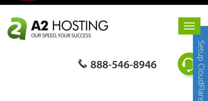 A2 hosting server