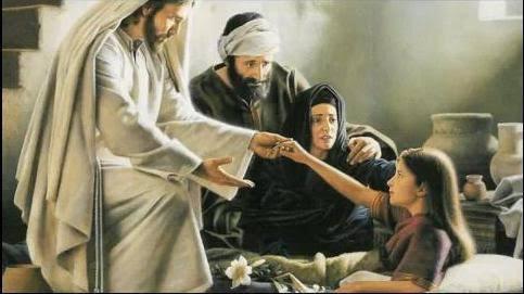 Bible Story : Jesus Raises Jairus' Daughter From The Dead