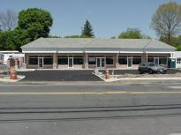 View of the center from across the street