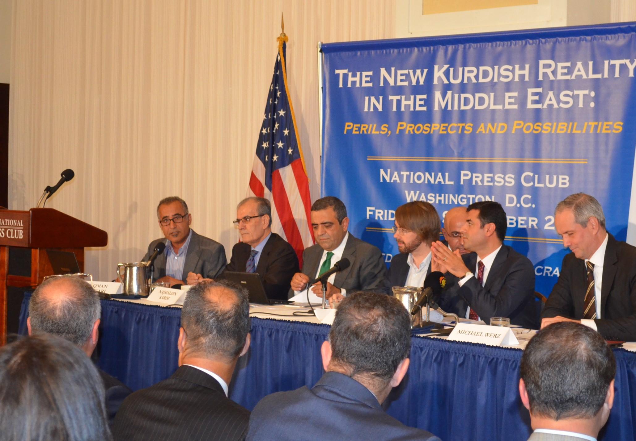 HDP'den Washington'da 'demokratik özerklik' konferansı