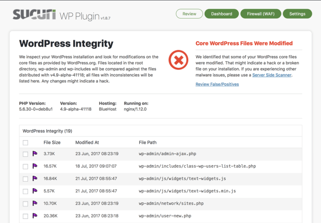 sucuri plugin  to secure wordpress website