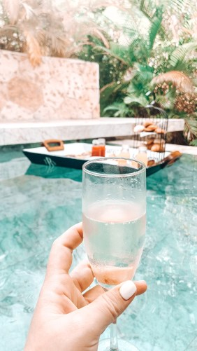 Champagne and Floating Breakfasts