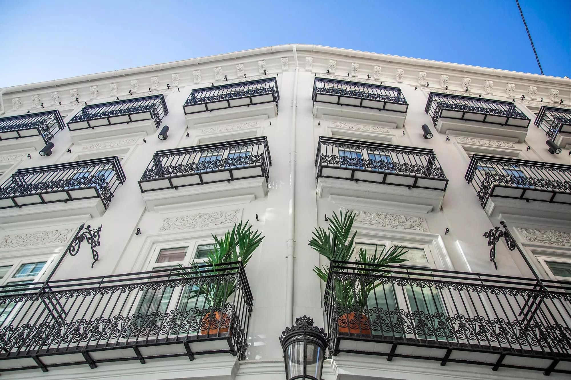 Fachada Hotel 4 estrellas superior Marqués House
