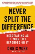 Never Split The Difference – Couverture
