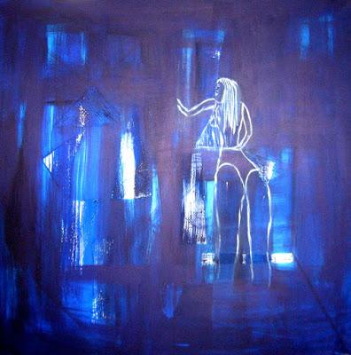 Afrikafrau von http://textimpressionen.blogspot.de/2015/06/die-blaue-stunde.html