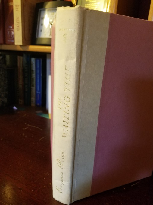 """This is the side--when the book is """"right side up""""."""