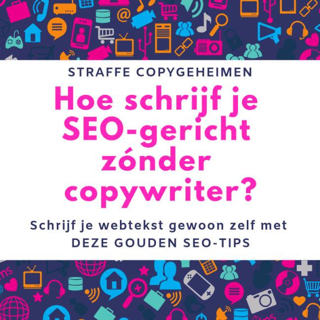 Hoe schrijf je SEO-gericht zonder copywriter?