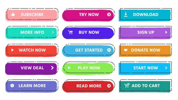 Voorbeelden van call to action buttons - freepik.com