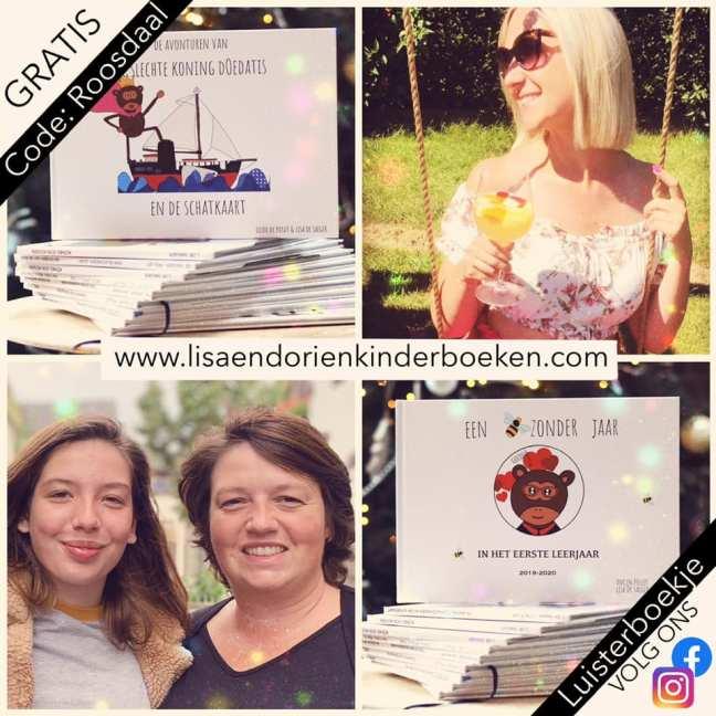 Lisa en Dorien Kinderboeken maken gepersonaliseerde kinderboekjes!