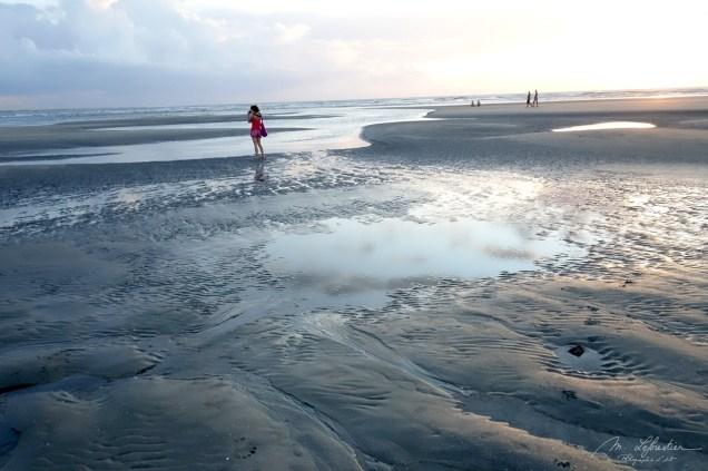 woman on the beach in Jericoacoara , Brazil