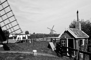 mills at Kinderdijk, Netherlands