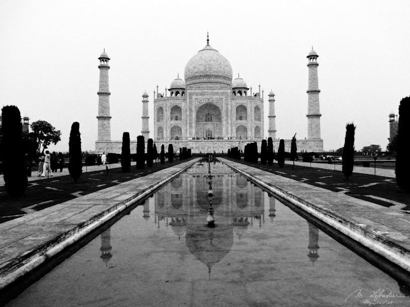 Taj Mahal Agra India world wonder