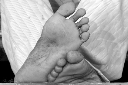 feet in Varanasi India